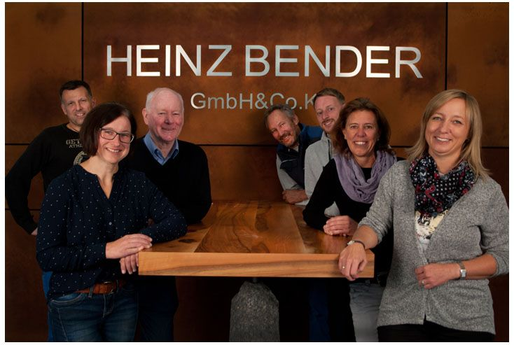 Das Team der HEINZ BENDER GMBH & CO. KG